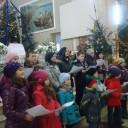 Album foto 26 decembrie 2012: Corul Mesagerii bucuriei și Ansamblul Ecoul din Vale în vizită la Mărgineni.