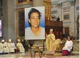 Fericita Chiara Luce Badano (beatificată la 25.09.2010)