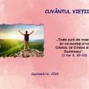 Cuvântul Vieții Septembrie
